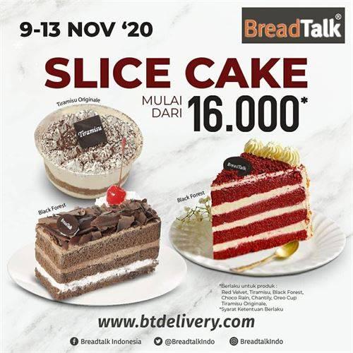 Diskon BreadTalk Promo Slice Cake Mulai 16k