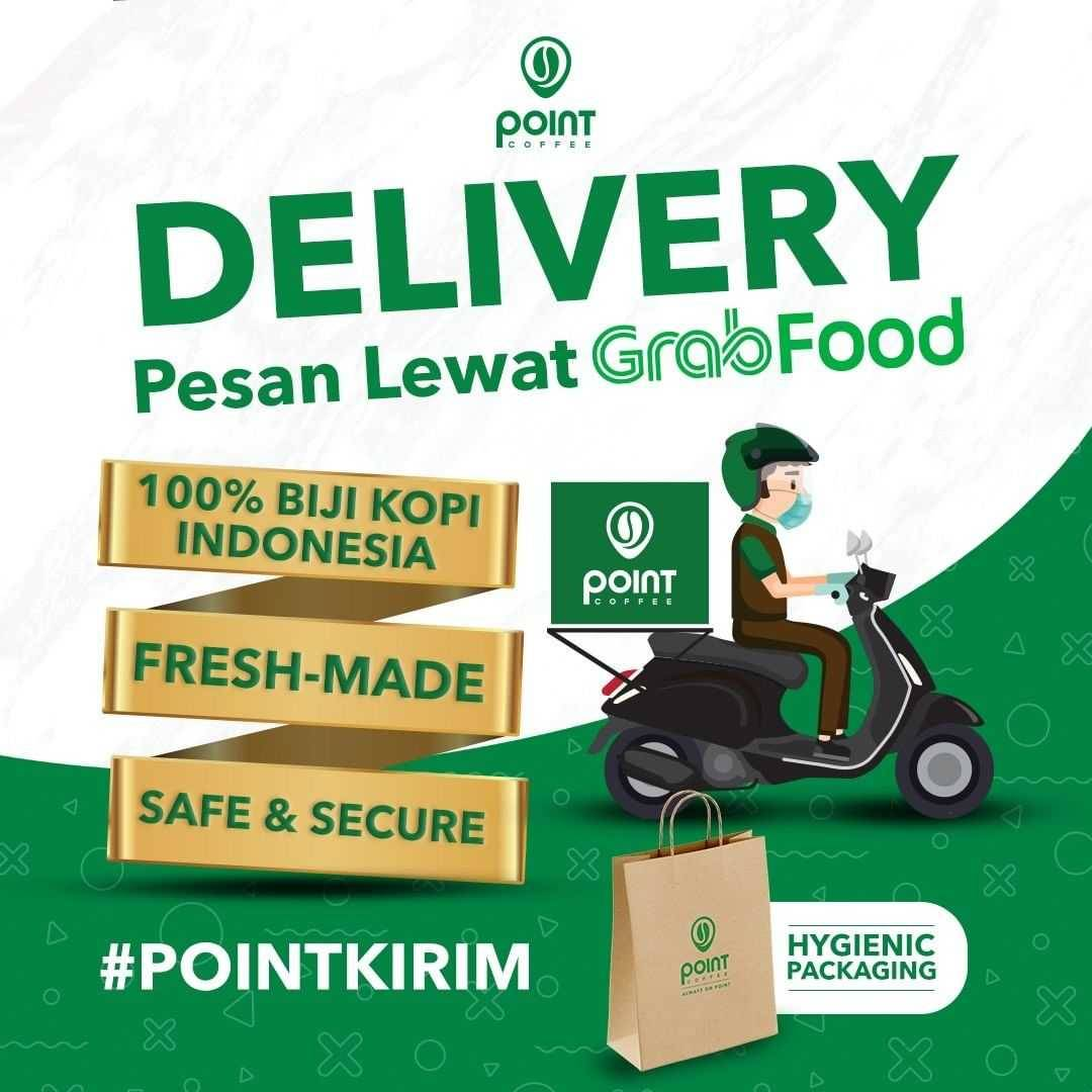 Promo diskon Point Coffee Discount 50% Off On Morning Coffee