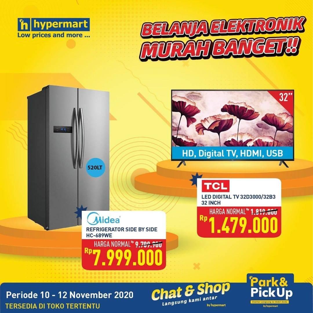 Katalog Promo Giant Elektronik Murah Periode 10 12 November 2020 Disqonin