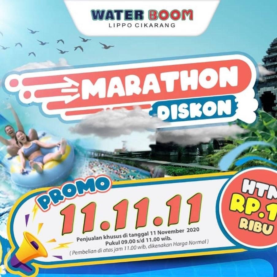 Diskon Waterboom Promo 11.11.11 HTM Rp. 11.000