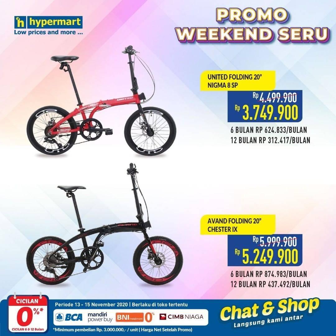 Diskon Katalog Promo Hypermart Weekend Seru Periode 13 - 15 November 2020