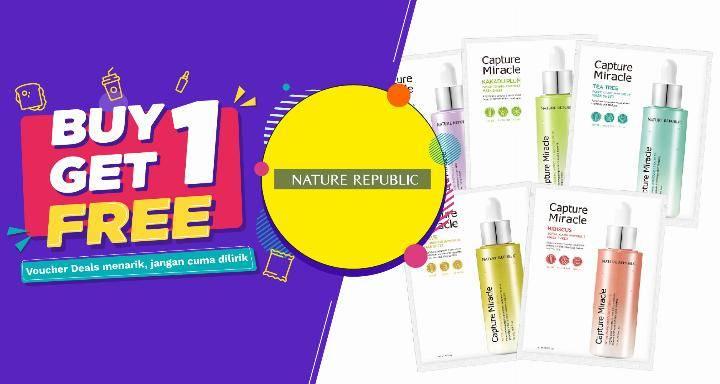 Diskon Nature Republic Promo OVO Buy 1 Get 1
