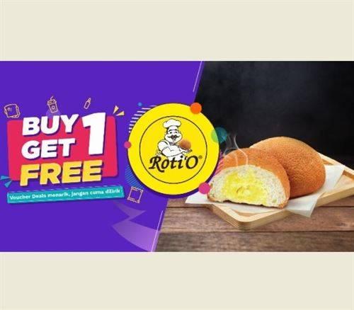 Diskon Roti'O Promo OVO Buy 1 Get 1