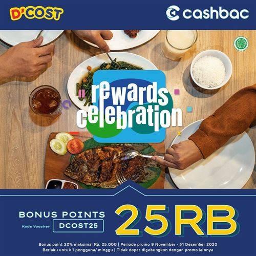 Diskon D'Cost Promo Cashbac Bonus Point Rp 25.000