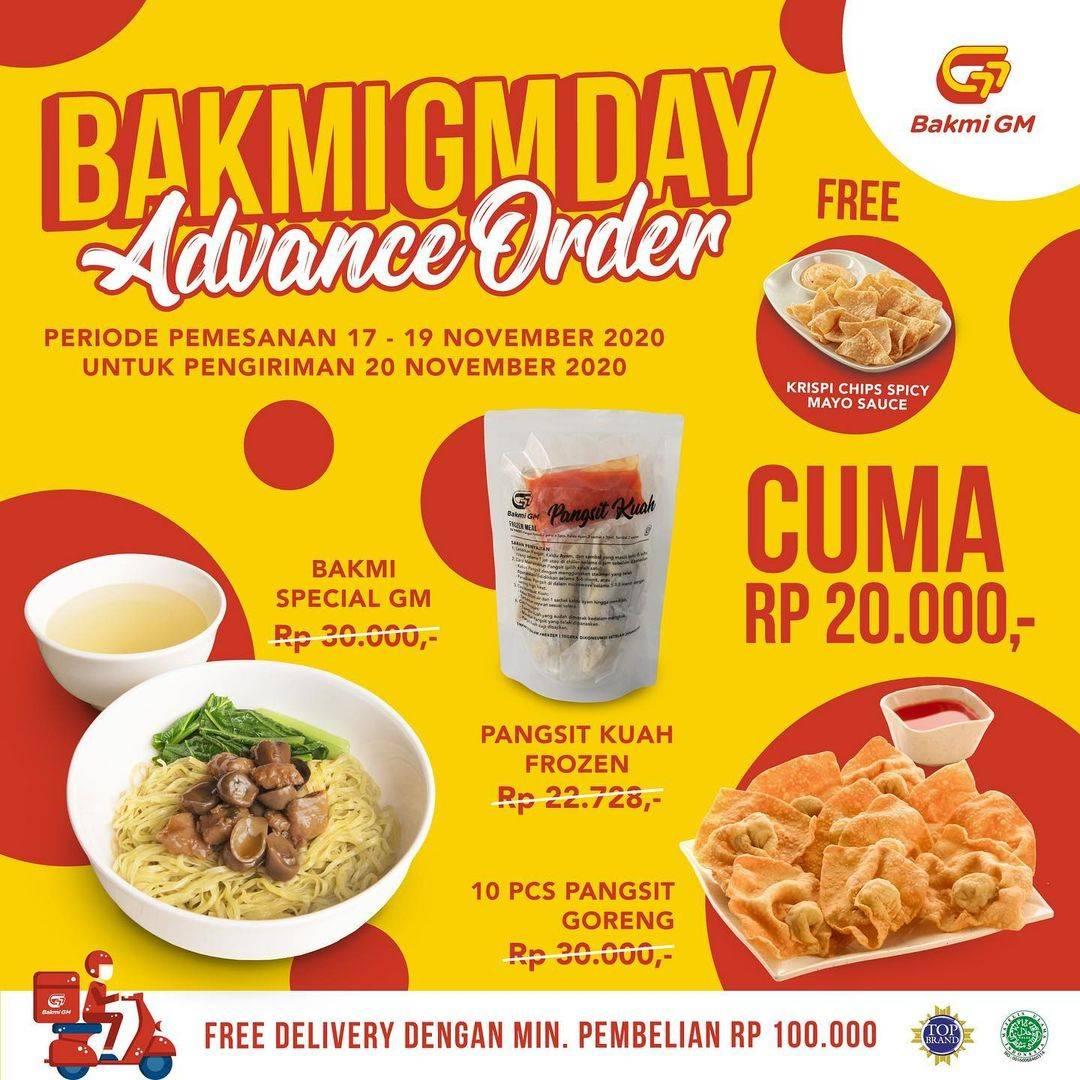 Diskon Bakmi GM Promo Bakmi GM Day - Free Krispi Chips Spicy Mayo