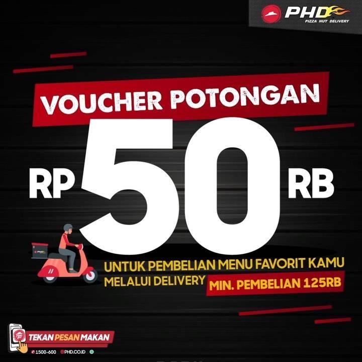 Diskon PHD Voucher Potongan Rp. 50.000