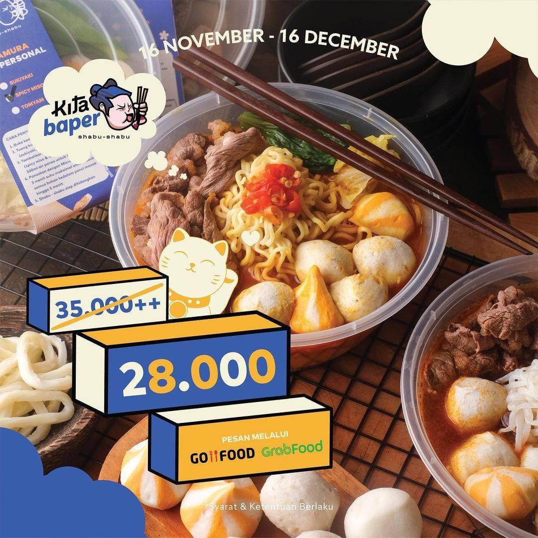 Diskon Kitamura Promo Kitabaper - Menu Personal Hanya Rp. 28.000