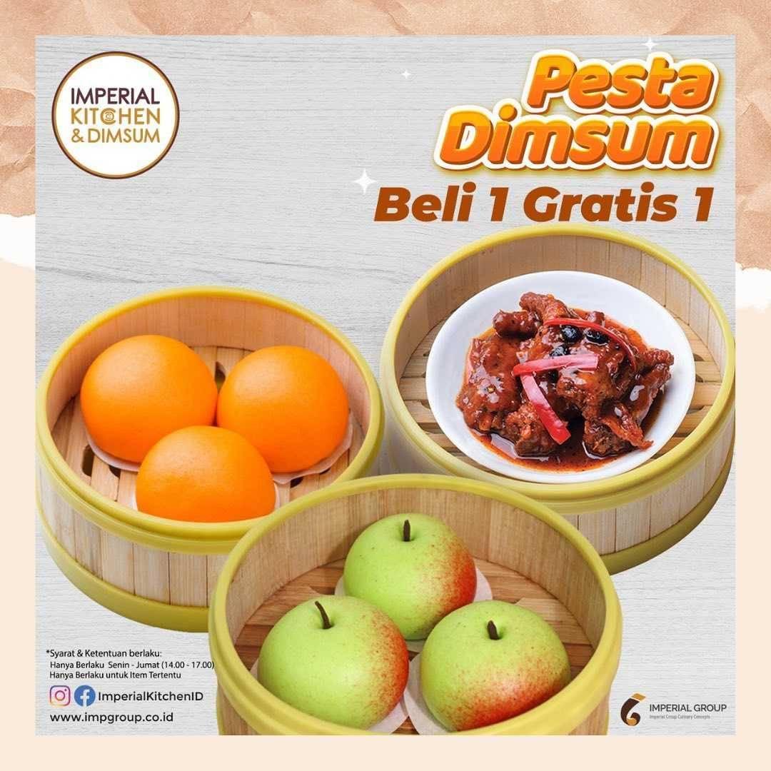 Diskon Imperial Kitchen Promo Pesta Dimsum - Buy 1 Get 1 Free