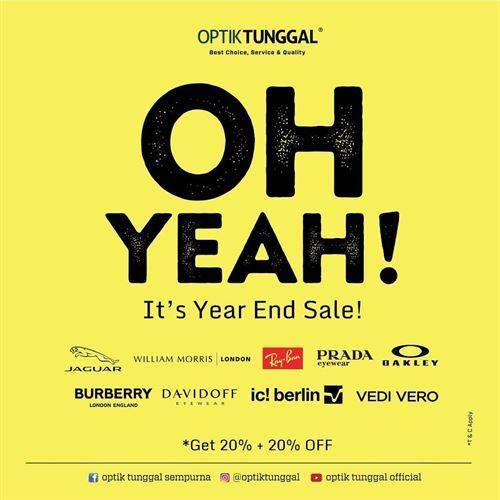 Diskon Optik Tunggal Promo Enjoy 20% + 20%
