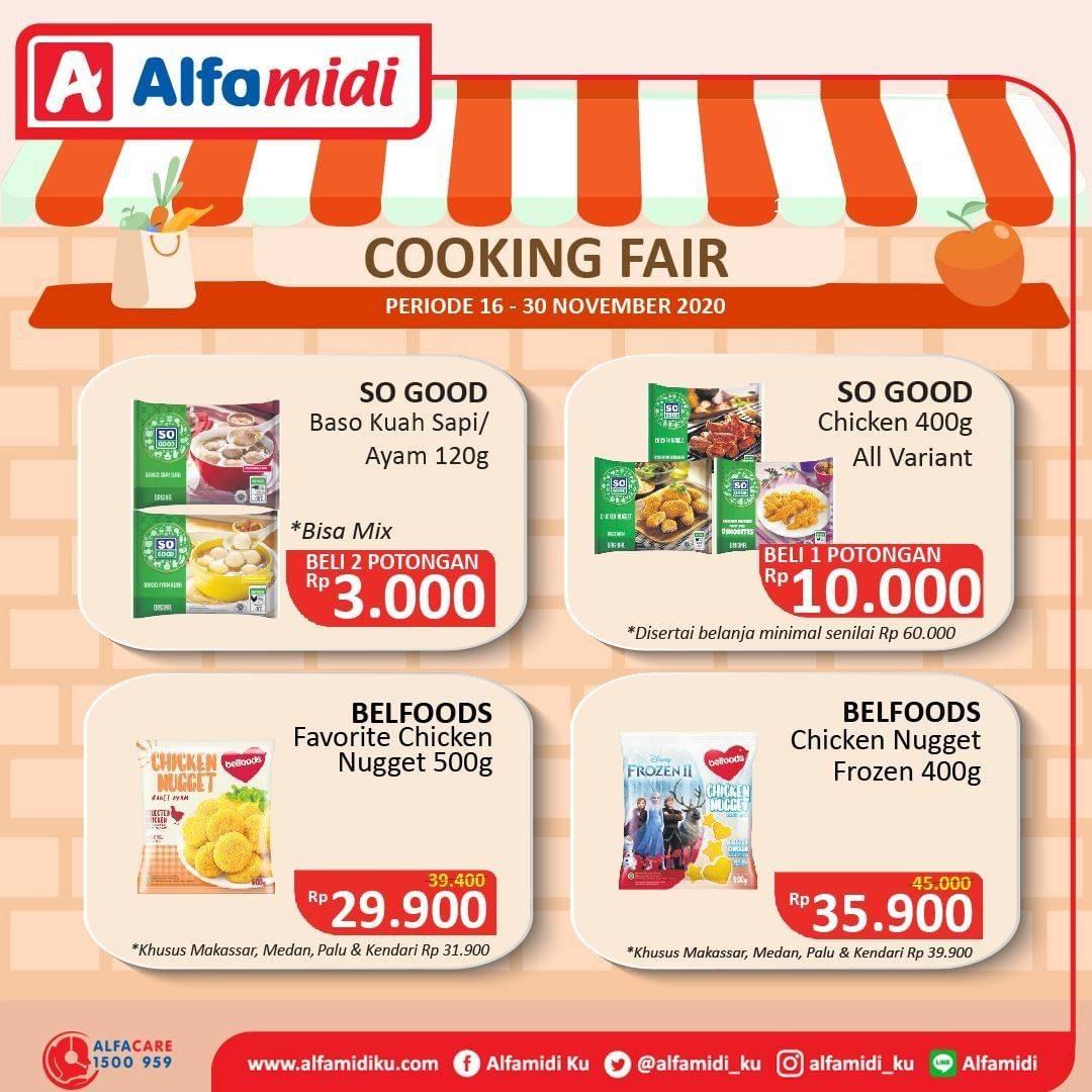 Diskon Katalog Promo Alfamidi Cooking Fair Periode 16 - 30 November 2020