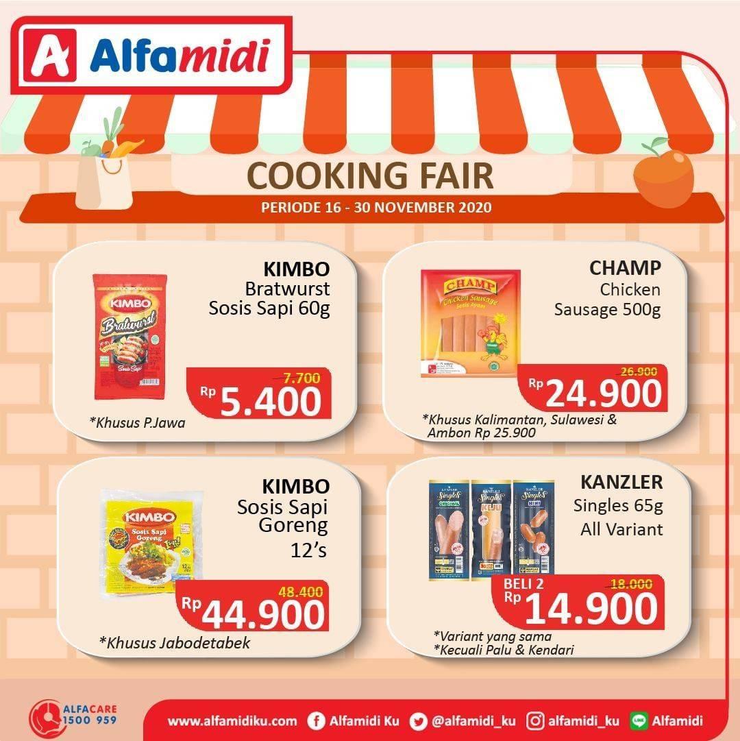 Promo diskon Katalog Promo Alfamidi Cooking Fair Periode 16 - 30 November 2020
