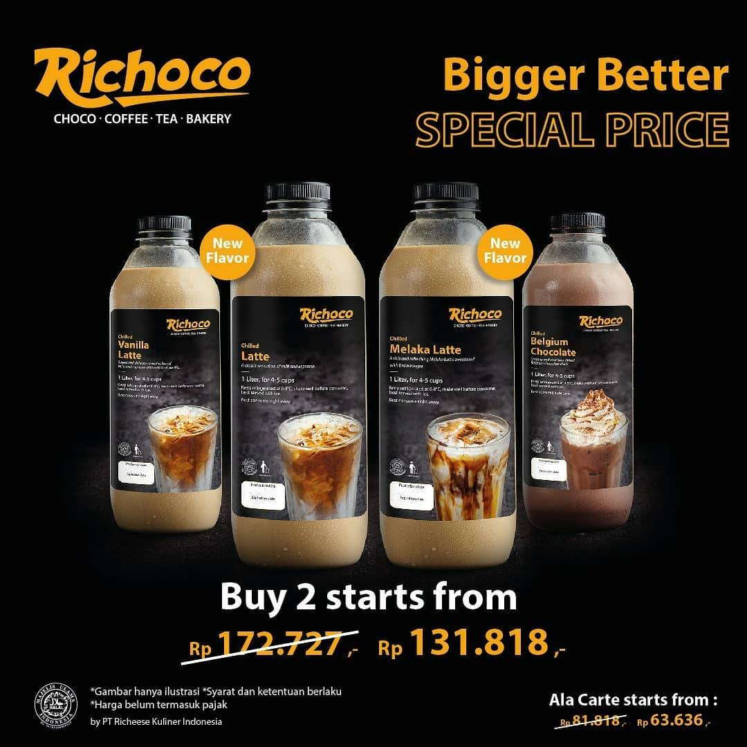 Diskon Richoco Promo Buy 2 Richoco 1L Get Special Price Start From Rp. 131.818