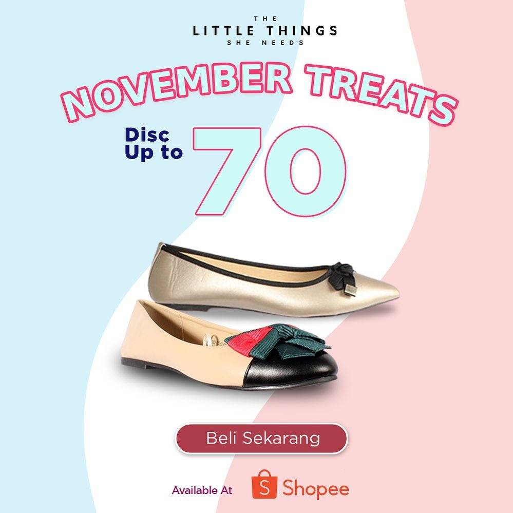 Diskon The Little Things She Need November Treats Discount Up To 70% Off On Shopee
