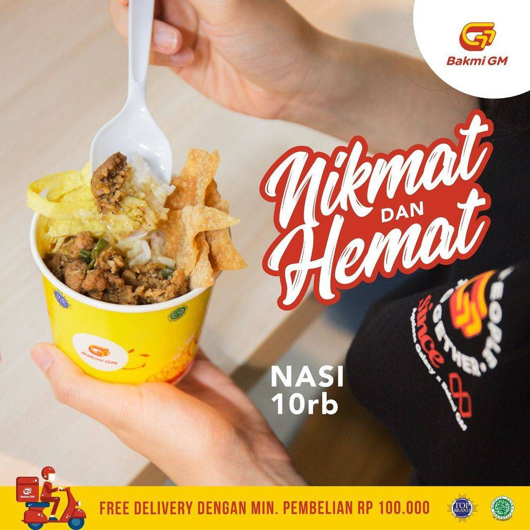 Diskon Bakmi GM Promo Nikmat & Hemat Nasi Hanya Rp. 10.000