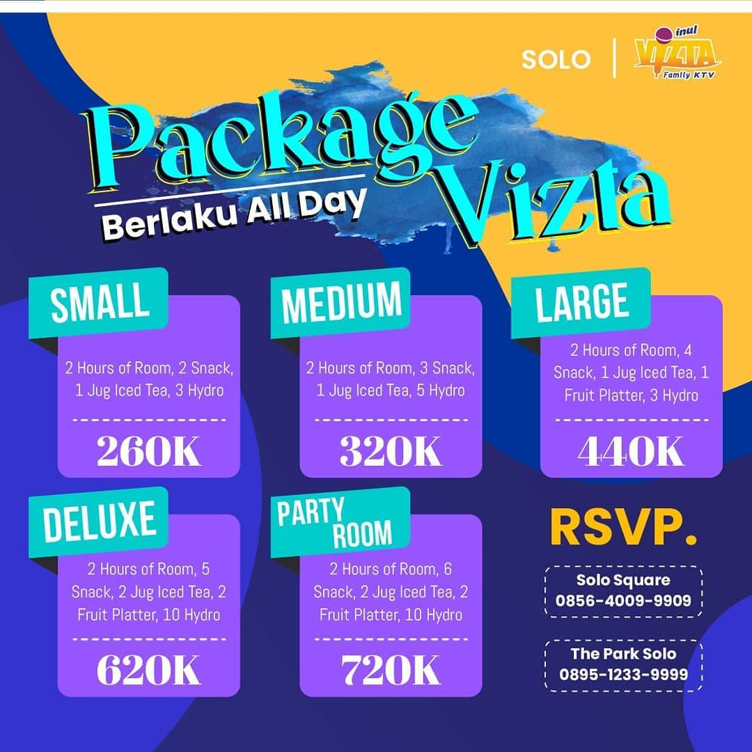 Diskon Inul Fizta Promo Package Vizta Start From Rp. 260.000