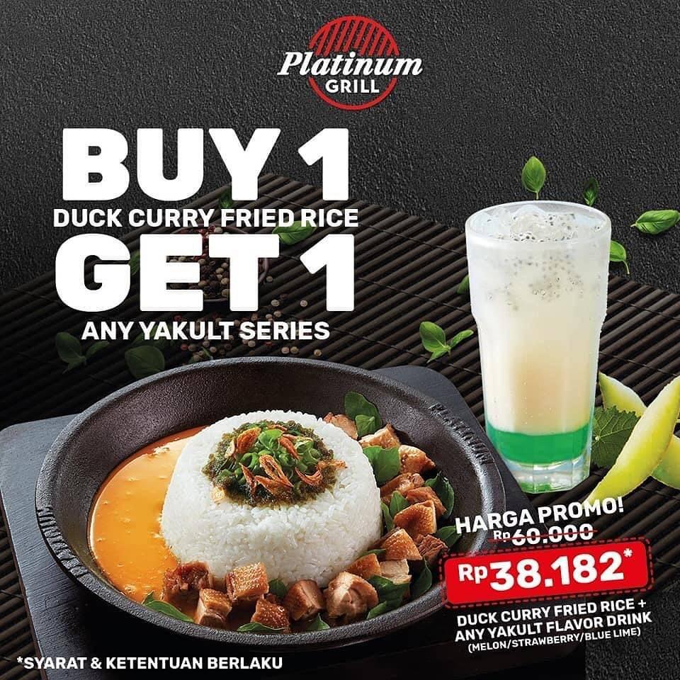 Diskon Platinum Grill Buy 1 Get 1 Free