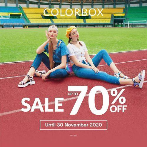 Diskon Colorbox Sale Up To 70% Off