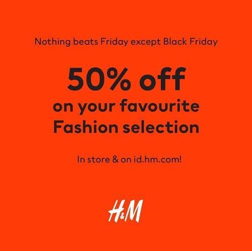 Diskon H&M Promo Discount Up to 50%