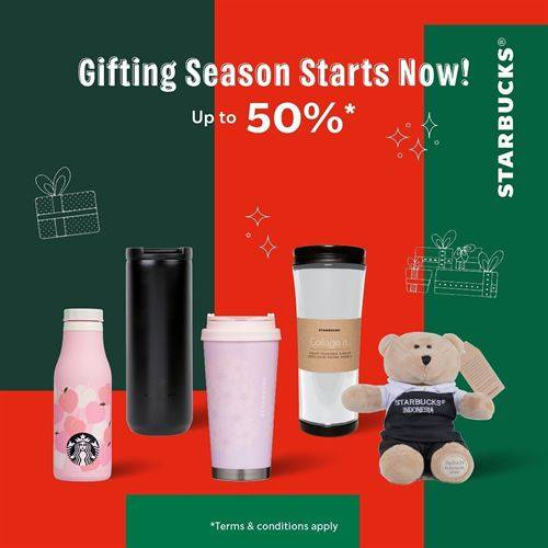 Diskon Starbucks Promo Merchandise Sale