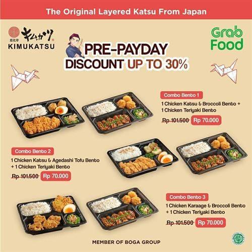 Diskon Kimukatsu Promo Pre-Payday Up to 30%