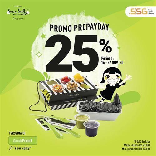 Diskon Sour Sally Promo Pre-Payday Diskon 25%