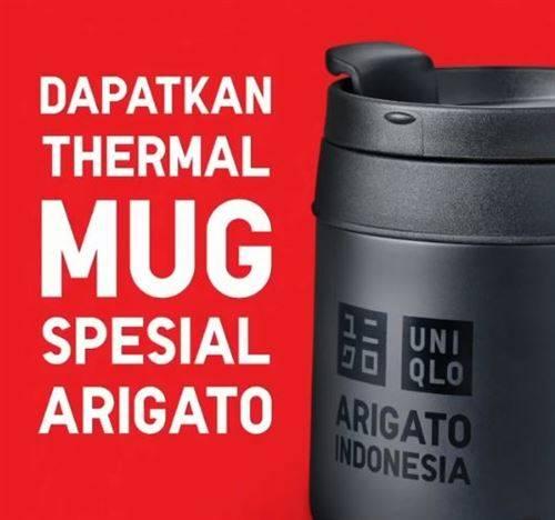Diskon Uniqlo Promo Free Mug