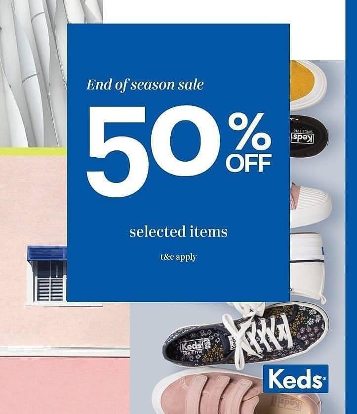 Diskon Keds End Of Season Sale Discount 50% Off