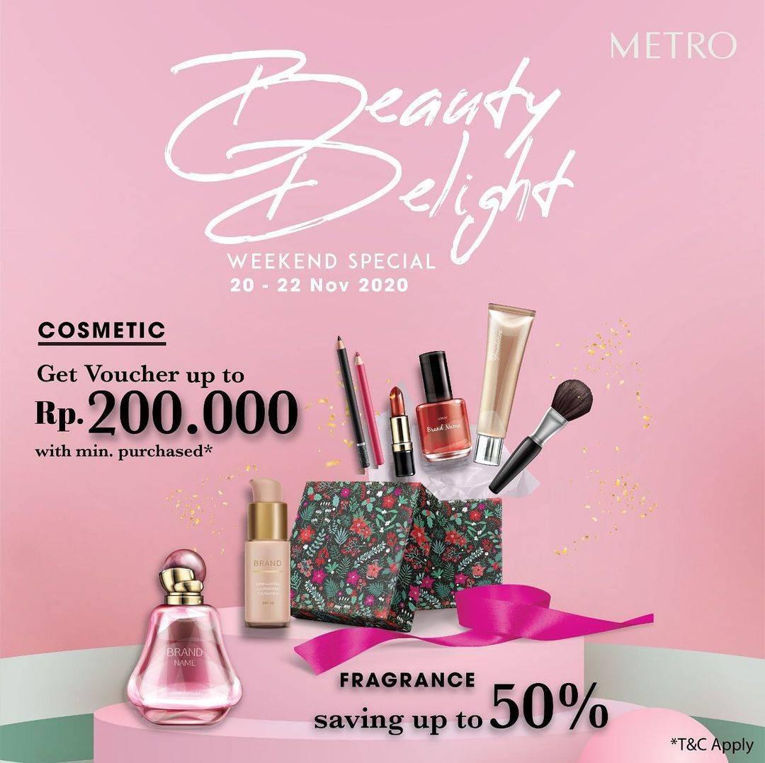Diskon Metro Department Store Promo Beauty Delight