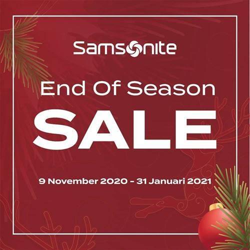 Diskon Samsonite Promo End of Season Sale