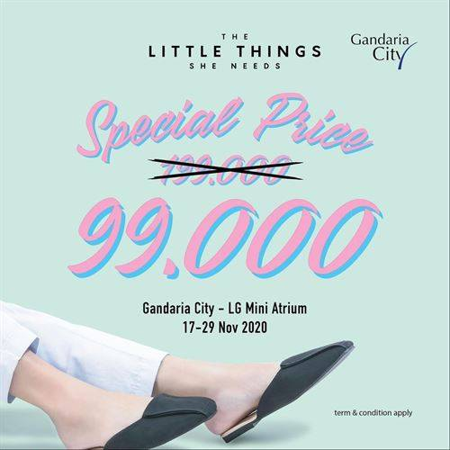 Diskon The Little Things She Needs Special Price Rp. 99.000