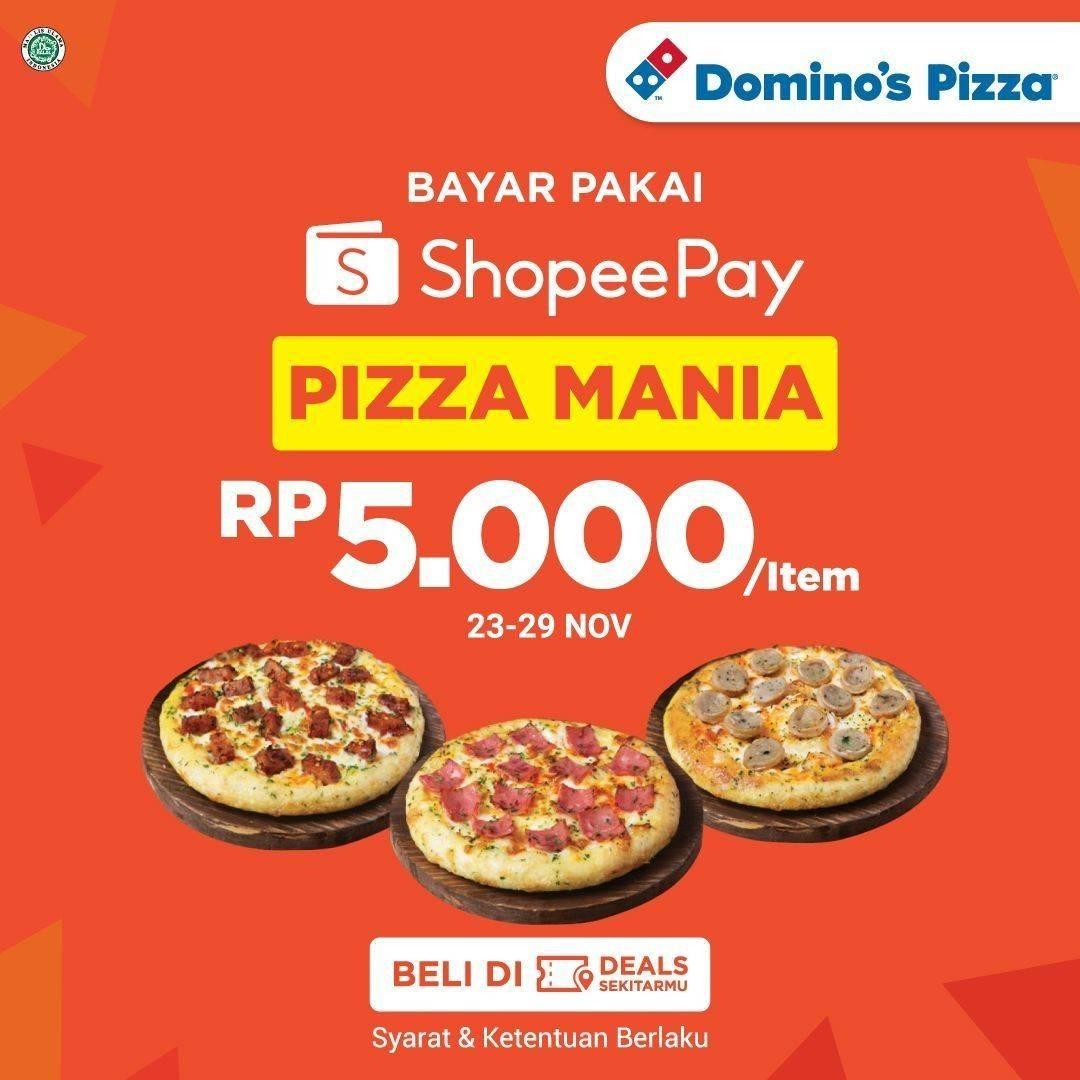 Domino S Pizza Promo Voucher Rp 1 Di Shopee Disqonin
