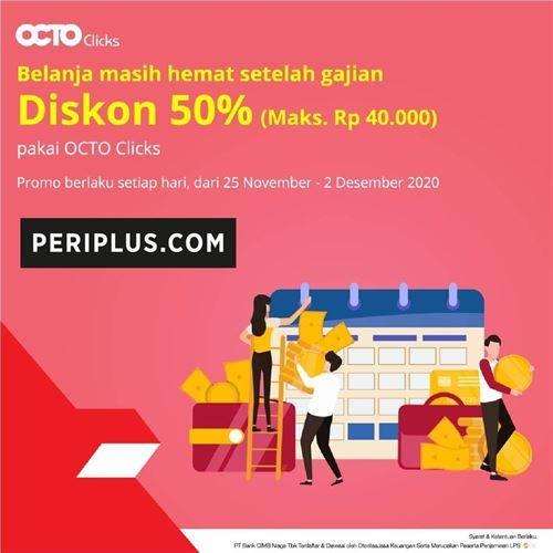 Diskon Periplus Promo Diskon 50%