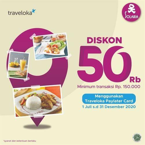 Diskon Solaria Promo Kartu Kredit BRI Diskon Rp 50.000