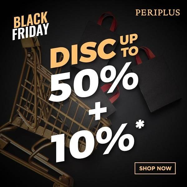 Diskon Periplus Discount Up To 50% + 10% For All Products