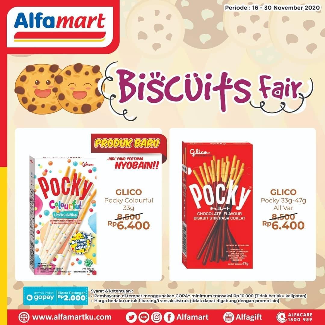 Diskon Katalog Promo Alfamart Biscuits Fair Periode 16 - 30 November 2020