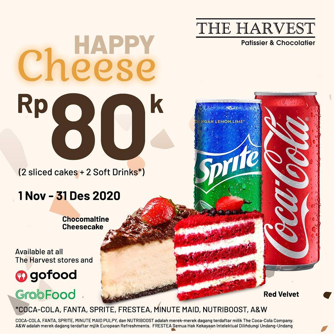 Diskon The Harvest Promo Happy Choco & Happy Cheese