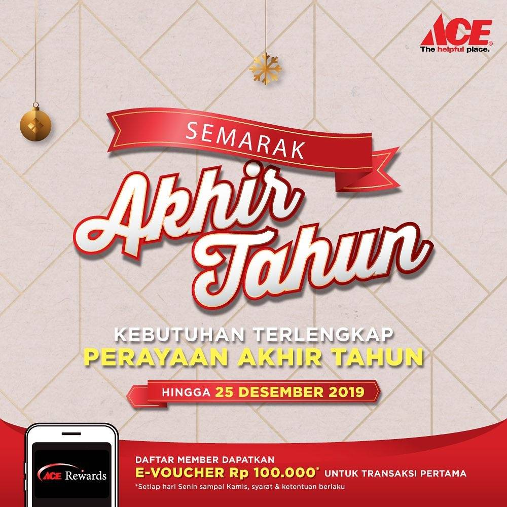 Ace Hardware Promo Semarak Akhir Tahun