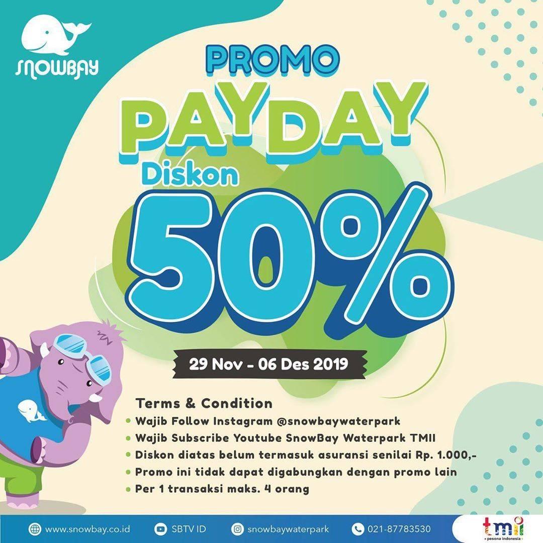 Snowbay Promo Gopay Payday Diskon 50% untuk Tiket Masuk