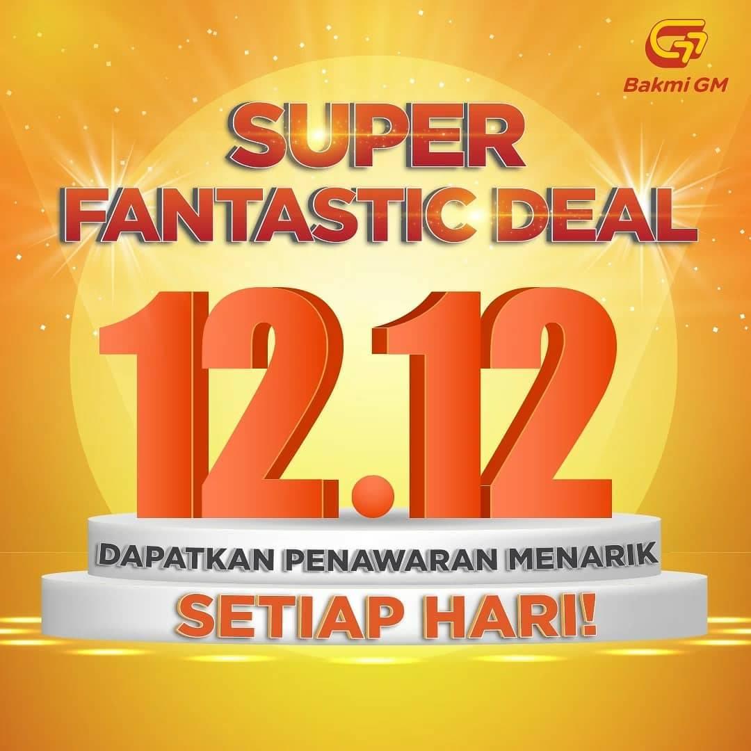 Bakmi GM Super Fantastic Deal 12.12 Harga Spesial Setiap Hari