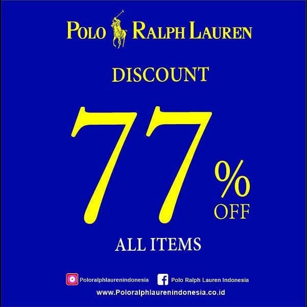 Polo Ralph Lauren Promo Diskon 77% Off