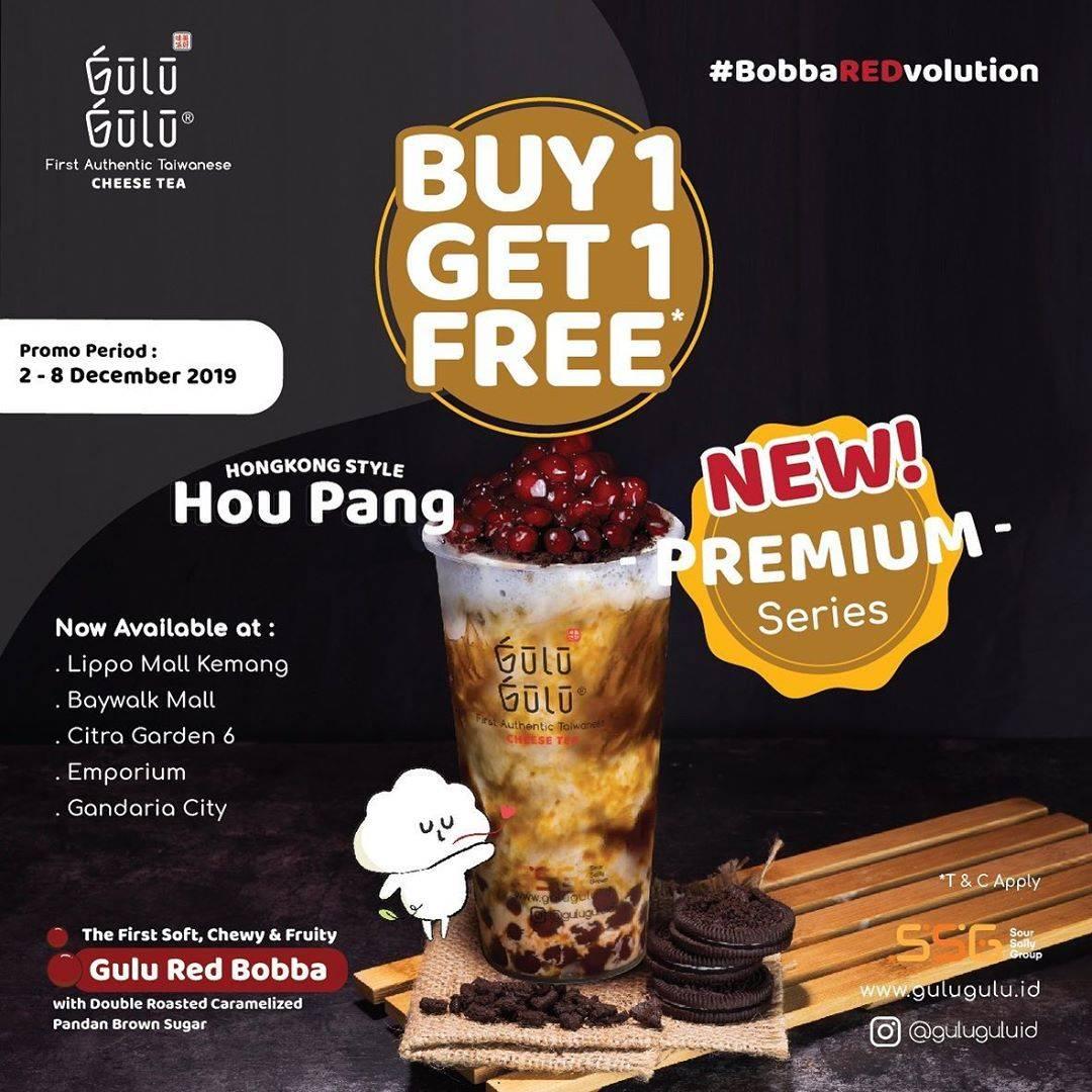 Gulu Gulu Promo Beli 1 Gratis 1 untuk HongKong Style HouPang