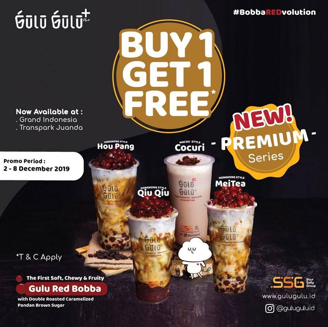 Diskon Gulu Gulu Promo Beli 1 Gratis 1 untuk Premium Series