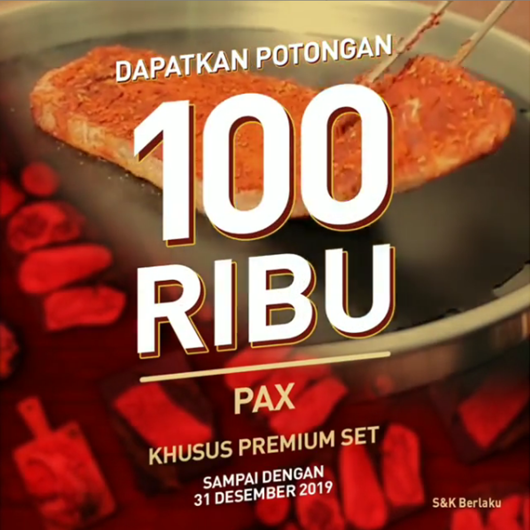 Holycow Promo Dapatkan Potongan 100.000 Per Pax Setiap Pembelian Premium Set UNLIMEATED