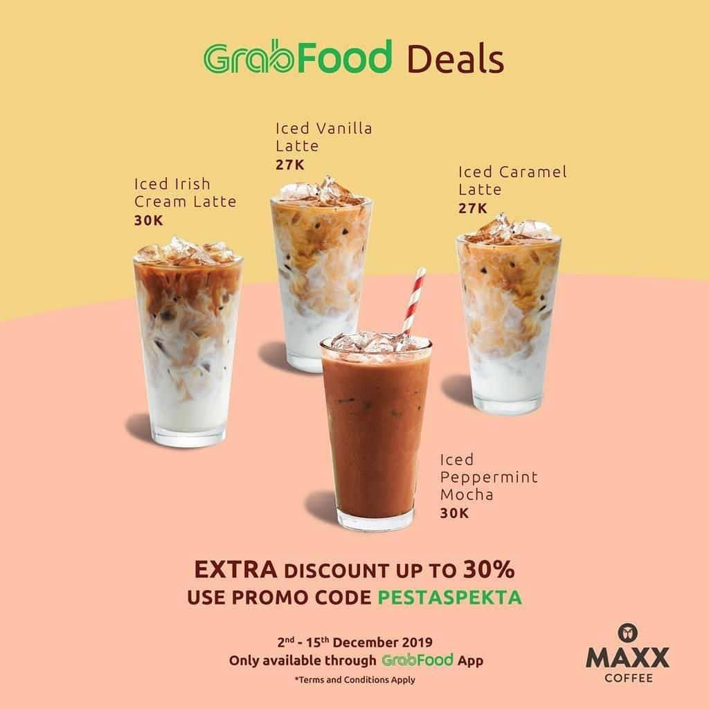 Diskon Maxx Coffee Promo GrabFood untuk Menu Favorit Pilihan