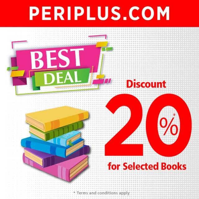 Periplus Promo Best Deal Diskon 20% untuk item tertentu
