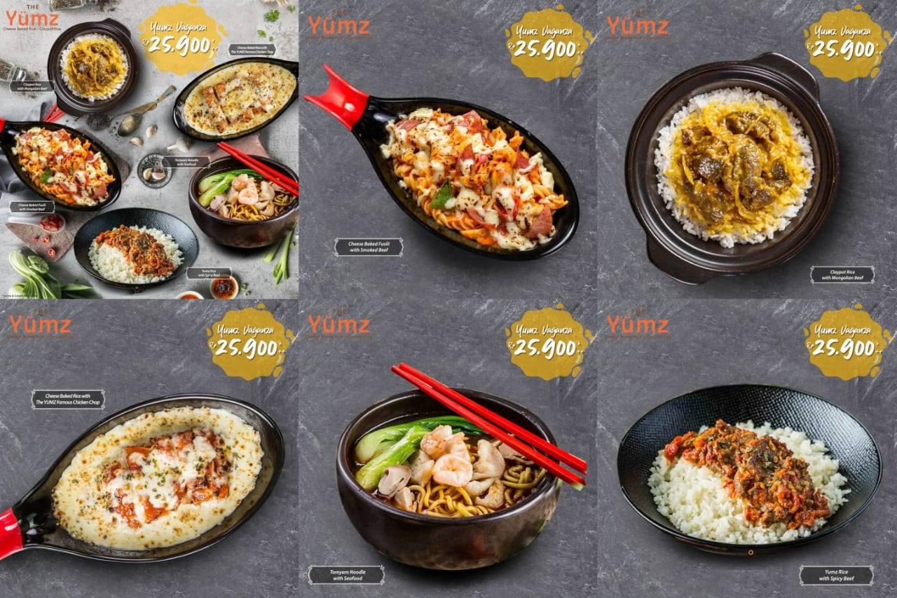The Yumz Promo Makan Enak Mulai Dari Rp. 25.900