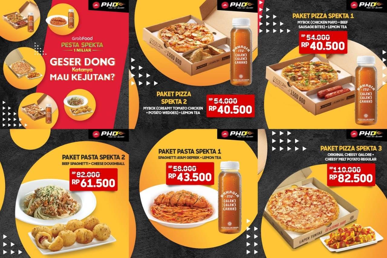 PHD Promo Spesial Grabfood Makan Enak Mulai Rp. 40.500