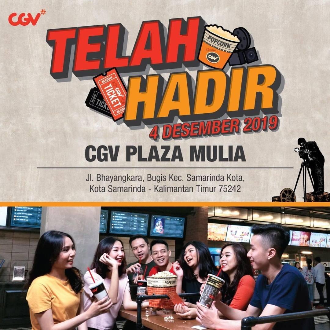 CGV Plaza Mulia Samarinda Opening Promo