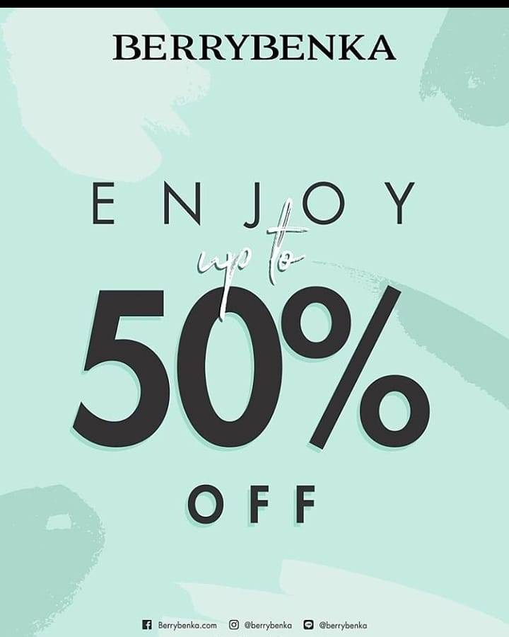 Berrybenka Discount Up To 50% Off