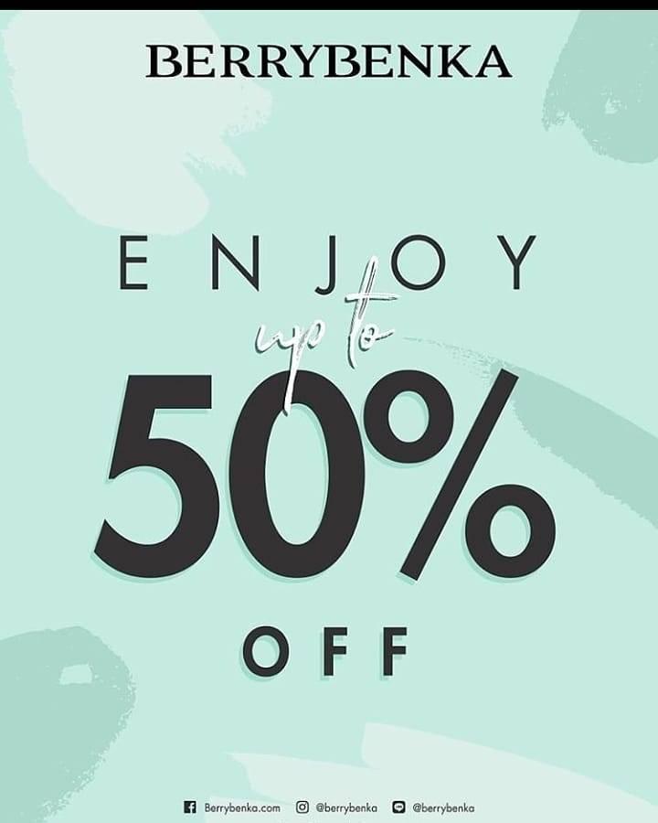 Diskon Berrybenka Discount Up To 50% Off